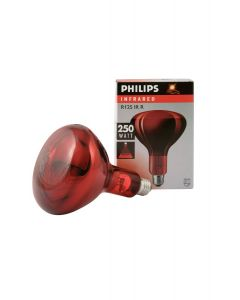 Philips Infrared Bulb 250w Red