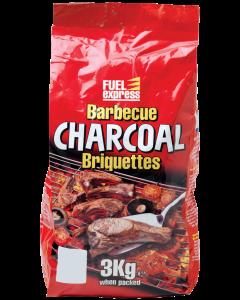 Fuel Express Charcoal Briquettes - 3kg