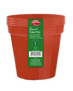 """Ambassador Flower Pots 5"""" - Pack 5"""