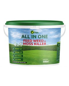 Vitax All In One Feed Weed & Moss Killer Tub - 300sqm