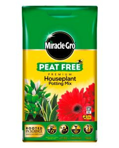 Miracle-Gro Houseplant Potting Mix Peat Free Compost - 10L