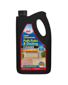 Doff Path, Patio & Decking Cleaner - Super Concentrate - 2.5L