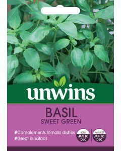 Herb Basil Sweet Green Seeds
