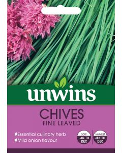 Herb Chives Fine Leaved Seeds
