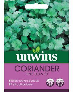 Herb Coriander Fine Leaved Seeds