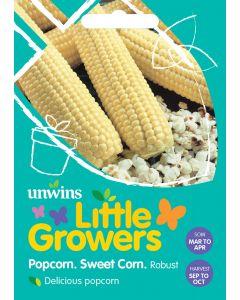 Little Growers Sweet Corn Popcorn Robust Seeds