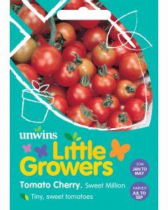 Little Growers Tomato Cherry Sweet Million Seeds