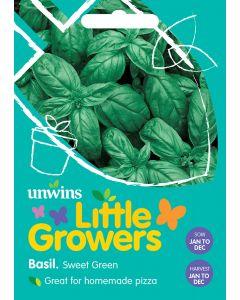 Little Growers Basil Sweet Seeds