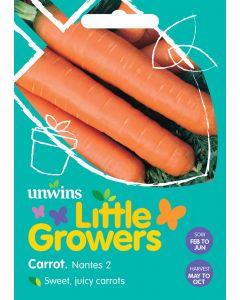 Little Growers Carrot Nantes 2 Seeds