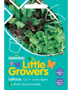 Little Growers Lettuce Cut n' Come Again Seeds