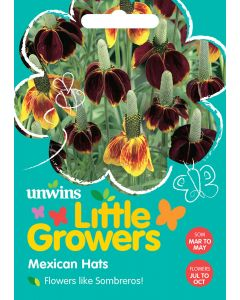 Little Growers Mexican Hats Seeds