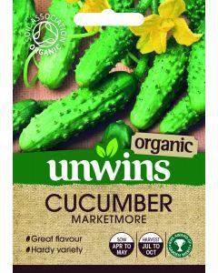 Cucumber Marketmore (Organic) Seeds