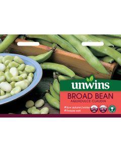 Broad Bean Aquadulce Claudia Seeds