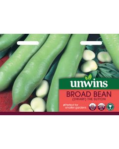 Broad Bean (Dwarf) The Sutton Seeds