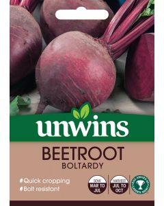 Beetroot (Round) Boltardy Seeds