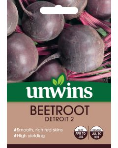 Beetroot (Round) Detroit 2 Seeds