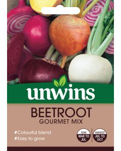 Beetroot (Round) Gourmet Mix Seeds