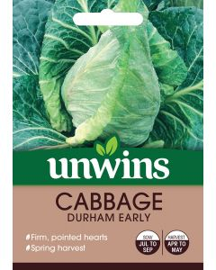 Cabbage (Pointed) Durham Early Seeds