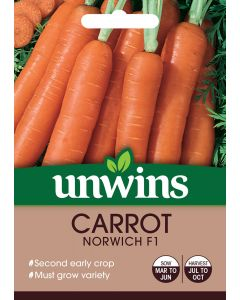 Carrot Norwich F1 Seeds