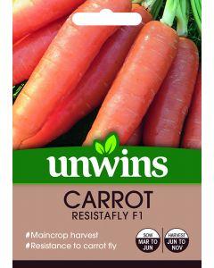 Carrot Resistafly F1 Seeds