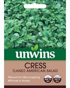 Cress Land American Salad Seeds