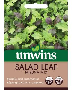 Salad Leaf Mizuna Mix Seeds