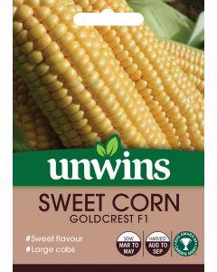 Sweet Corn Goldcrest F1 Seeds