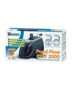 SuperFish Pond Flow Eco 2000 - 2000L/h - 25W