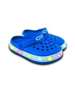 Light-Up Kids EVA Cloggies Blue - Size 10