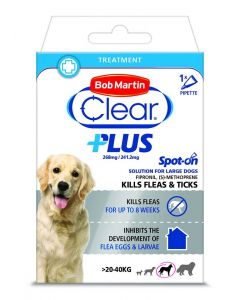 Bob Martin Clear Plus Spot On Solution For Large Dogs - 1 Pipette