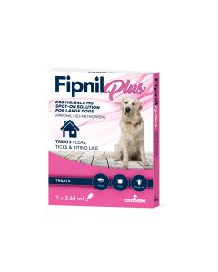 Fipnil Plus Spot-On For Large Dogs 20-40Kg - 3 Pipettes