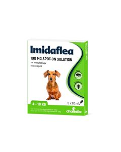 Imidaflea 100Gm Spot-On For Medium Dogs 4-10Kg - 3 Pipettes