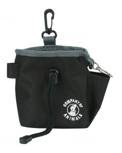 The Company Of Animals Treat Bag - Black