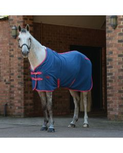 WeatherBeeta Fleece Cooler Standard Neck - Blueberry/Pink - 6'6
