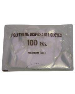 Gloves Disposable Shoulder Polygloves - Pack of 100