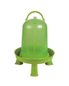Gaun Chicken Drinker Eco with Legs - 10L - Green