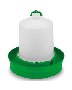 Gaun Chicken Drinker Deep Base - 8L - Green