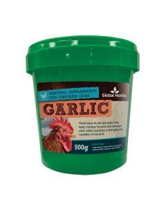 Global Herbs Poultry Garlic Granules - 500g