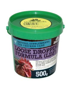 Global Herbs Poultry Loose Dropping Formula - 500g