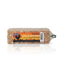 Johnson's Veterinary Poultry Corn 'N' Grit Treat - 270g
