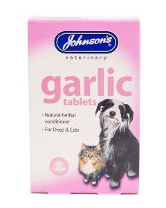 Johnson's Veterinary Garlic Tablets - 40 Tablets