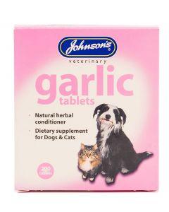Johnson's Veterinary Garlic Tablets - 200 Tablets