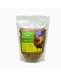 Natures Grub Garlic & Herb Superfoods Treat - 600g