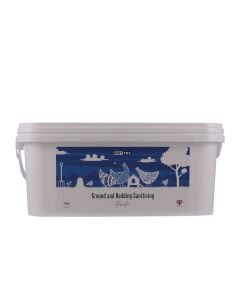 Nettex Ground & Bedding Sanitising Powder - 2kg