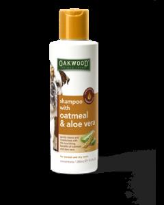 Oakwood Pet Shampoo with Oatmeal & Aloe Vera - 280ml