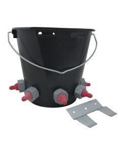 Paragon Rubber Lamb Feeder Bucket 5 Teat Complete