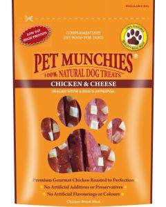 Pet Munchies Chicken & Cheese - 100g - Pack of 8