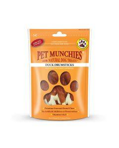 Pet Munchies Duck Drumsticks - 100g - Pack of 8