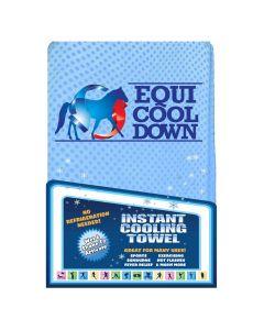 "Equi Cool Down Large Towel - Blue - 13.5"" x 31.5"""