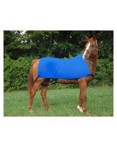 Equi Cool Down Deluxe Body Wrap - Blue - One Size